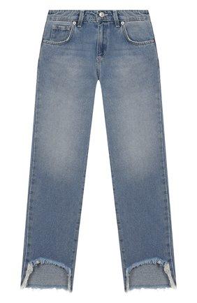 Детские джинсы CHIARA FERRAGNI голубого цвета, арт. 20PE-CFKJS003 | Фото 1