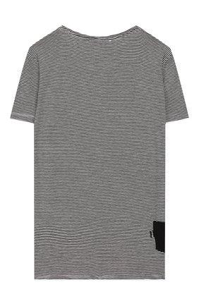 Детская футболка PAOLO PECORA MILANO черного цвета, арт. PP2256/14A-16A | Фото 2