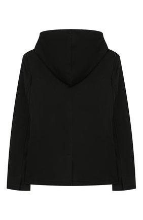 Детский хлопковый пиджак PAOLO PECORA MILANO черного цвета, арт. PP2331/14A-16A | Фото 2