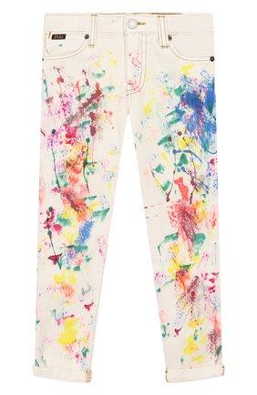Детские джинсы POLO RALPH LAUREN разноцветного цвета, арт. 313783769 | Фото 1