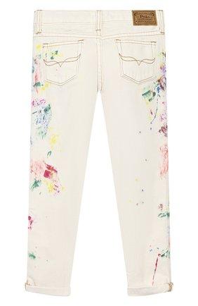 Детские джинсы POLO RALPH LAUREN разноцветного цвета, арт. 313783769 | Фото 2