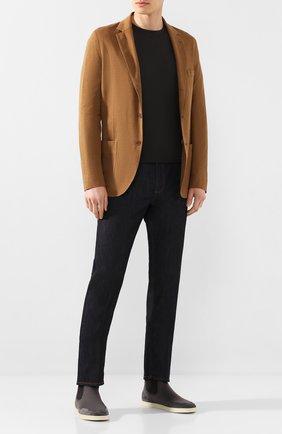 Мужские текстильные челси soho walk LORO PIANA серого цвета, арт. FAL0328 | Фото 2