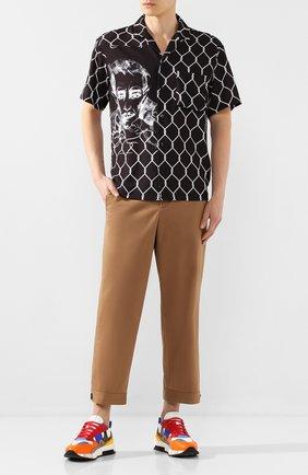 Мужская рубашка OFF-WHITE черного цвета, арт. 0MGA103S20H870331001 | Фото 2