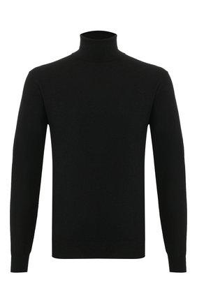Мужской кашемировая водолазка ALTEA черного цвета, арт. 2051044   Фото 1