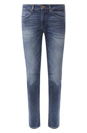 Мужские джинсы BOSS синего цвета, арт. 50426498   Фото 1