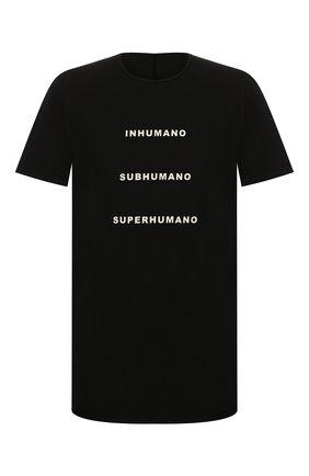 Мужская хлопковая футболка DRKSHDW черного цвета, арт. DU20S5250 RNEP5   Фото 1