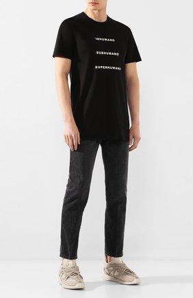 Мужская хлопковая футболка DRKSHDW черного цвета, арт. DU20S5250 RNEP5   Фото 2