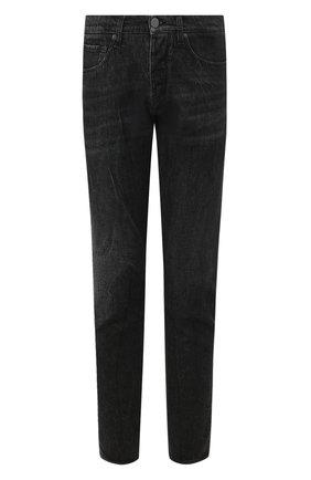 Мужские джинсы 2 MEN JEANS темно-серого цвета, арт. MARC0/Y205I | Фото 1