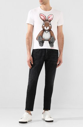 Мужские джинсы 2 MEN JEANS темно-серого цвета, арт. MARC0/Y205I | Фото 2