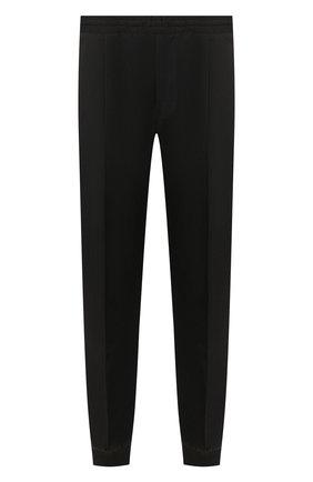 Мужские шерстяные джоггеры BERLUTI темно-серого цвета, арт. R17TCU60-001   Фото 1