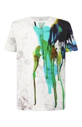 Мужская хлопковая футболка BERLUTI разноцветного цвета, арт. R17JRS44-002 | Фото 1