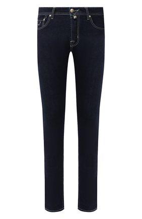 Мужские джинсы JACOB COHEN темно-синего цвета, арт. J688 LIMITED C0MF 01905-W1/53 | Фото 1
