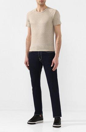 Мужские джинсы JACOB COHEN темно-синего цвета, арт. J688 LIMITED C0MF 01905-W1/53 | Фото 2