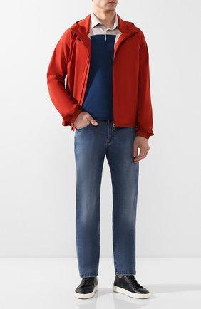 Мужская куртка LORO PIANA красного цвета, арт. FAL0954 | Фото 2
