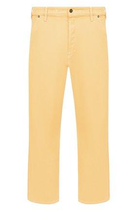 Мужские джинсы JACQUEMUS оранжевого цвета, арт. 205DE01/41270 | Фото 1