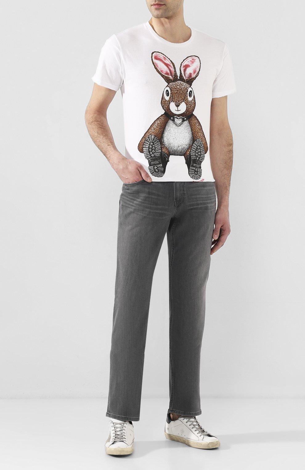 Мужские джинсы PAIGE серого цвета, арт. M657743-4621   Фото 2