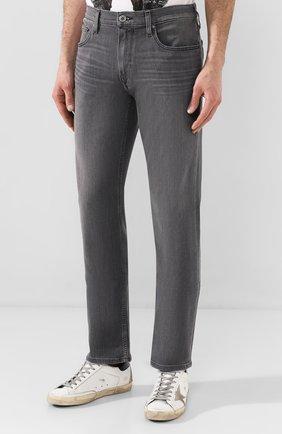 Мужские джинсы PAIGE серого цвета, арт. M657743-4621   Фото 3