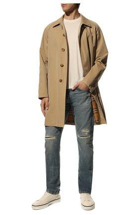 Мужские джинсы RRL голубого цвета, арт. 782504838/032 | Фото 2