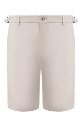 Мужские хлопковые шорты LORO PIANA серого цвета, арт. FAL0981 | Фото 1