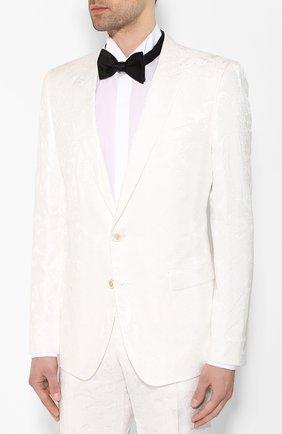 Мужской костюм DOLCE & GABBANA белого цвета, арт. GK0RMT/HJMI0 | Фото 2