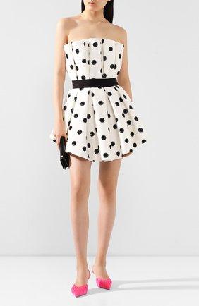Женское мини-платье GIUSEPPE DI MORABITO черно-белого цвета, арт. SS20126DR-89   Фото 2