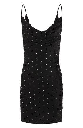 Женское мини-платье GIUSEPPE DI MORABITO черного цвета, арт. SS20137DR-92   Фото 1