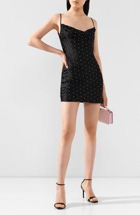 Женское мини-платье GIUSEPPE DI MORABITO черного цвета, арт. SS20137DR-92   Фото 2