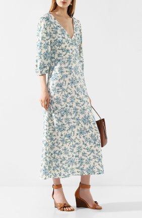 Женское платье VIVETTA голубого цвета, арт. 20E V2M0/H051/5310 | Фото 2