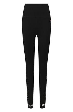 Женские леггинсы P.E. NATION черного цвета, арт. 19PE4G019-3 | Фото 1