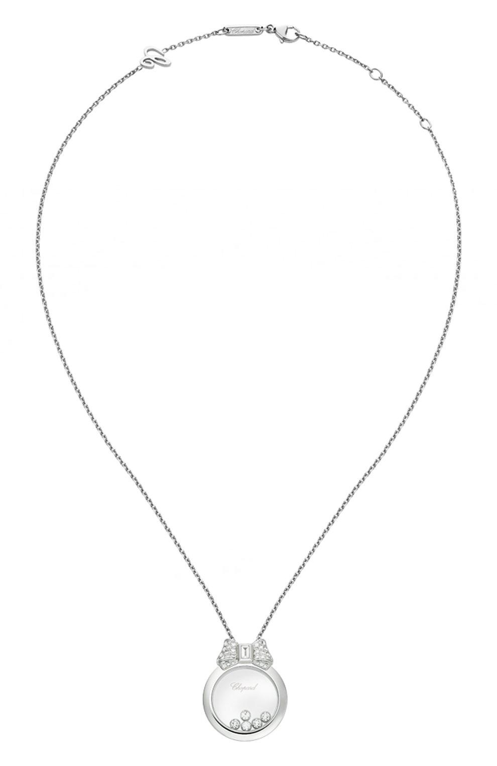 Женские кулон CHOPARD белого золота цвета, арт. 795020-1201 | Фото 1