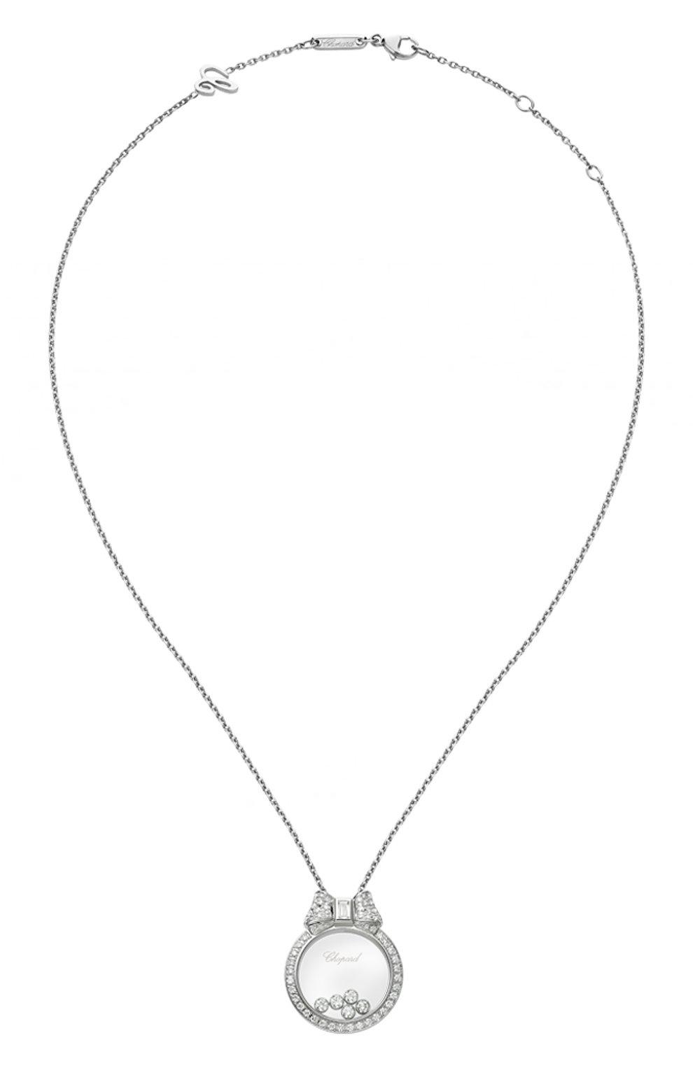 Женские кулон CHOPARD белого золота цвета, арт. 795020-1301 | Фото 1