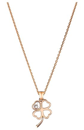 Женские кулон CHOPARD розового золота цвета, арт. 797862-5001 | Фото 2