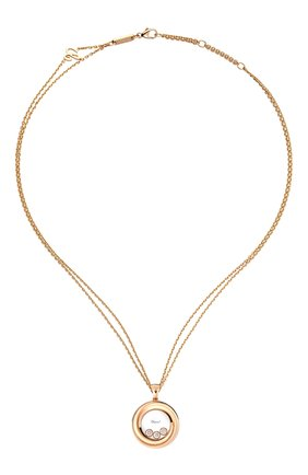 Женские кулон CHOPARD розового золота цвета, арт. 799217-5001 | Фото 1