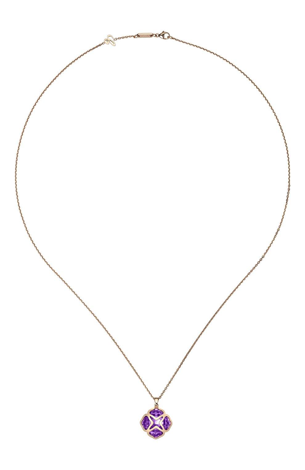 Женские кулон CHOPARD розового золота цвета, арт. 799220-5003 | Фото 1