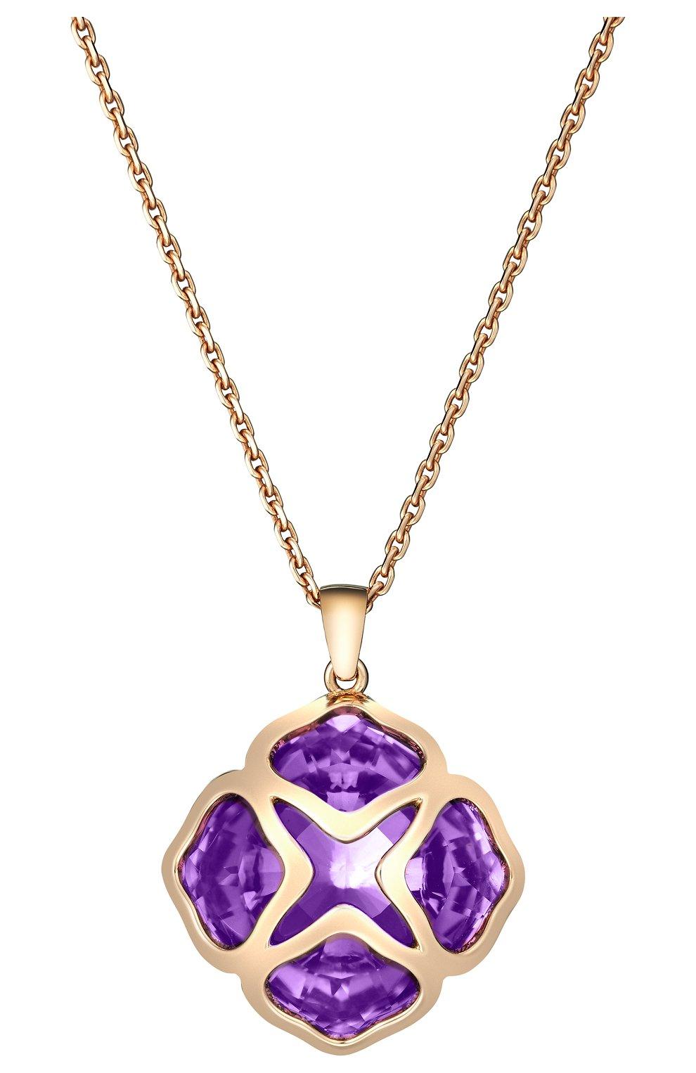 Женские кулон CHOPARD розового золота цвета, арт. 799220-5003 | Фото 2