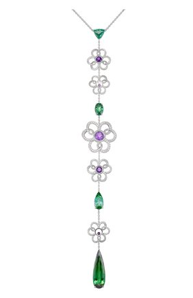 Женские колье CHOPARD бесцветного цвета, арт. 810370-1001 | Фото 1