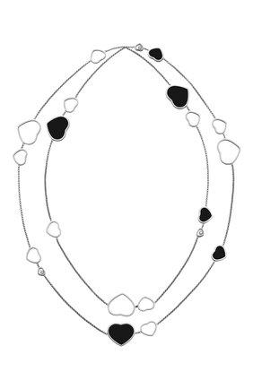 Женские колье CHOPARD бесцветного цвета, арт. 817482-1201 | Фото 1