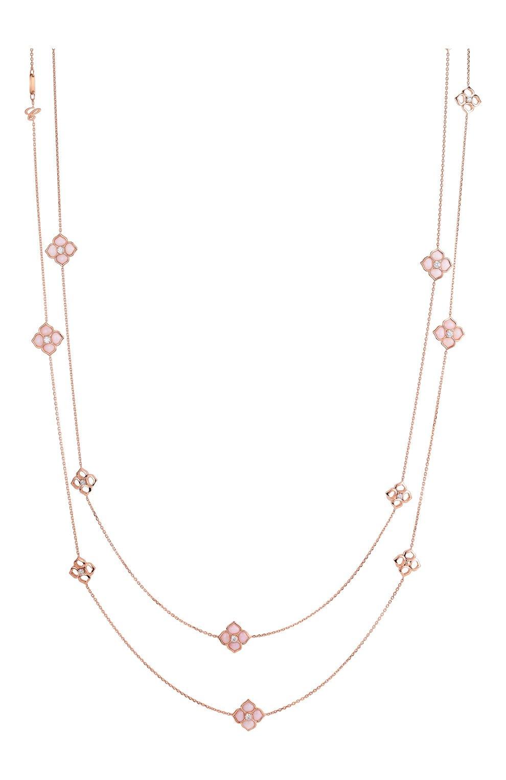 Женские колье CHOPARD розового золота цвета, арт. 818204-5003   Фото 1