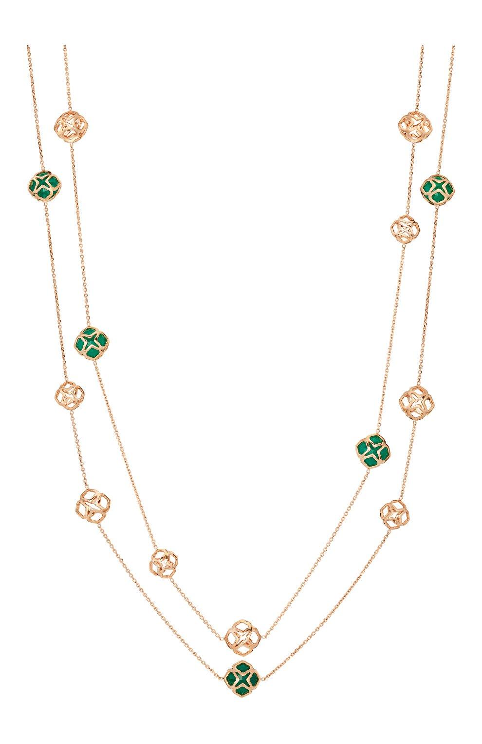 Женские колье CHOPARD розового золота цвета, арт. 819221-5001 | Фото 1