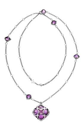 Женские колье CHOPARD бесцветного цвета, арт. 819570-1002 | Фото 1