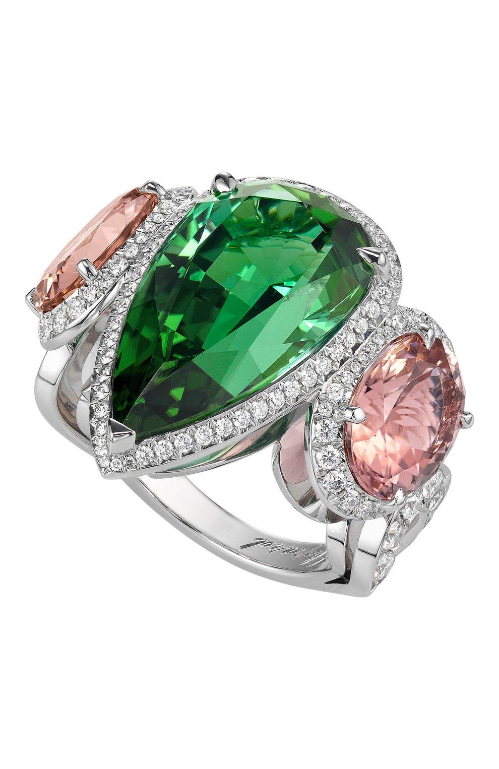 Женские кольцо CHOPARD бесцветного цвета, арт. 827948-1002   Фото 1