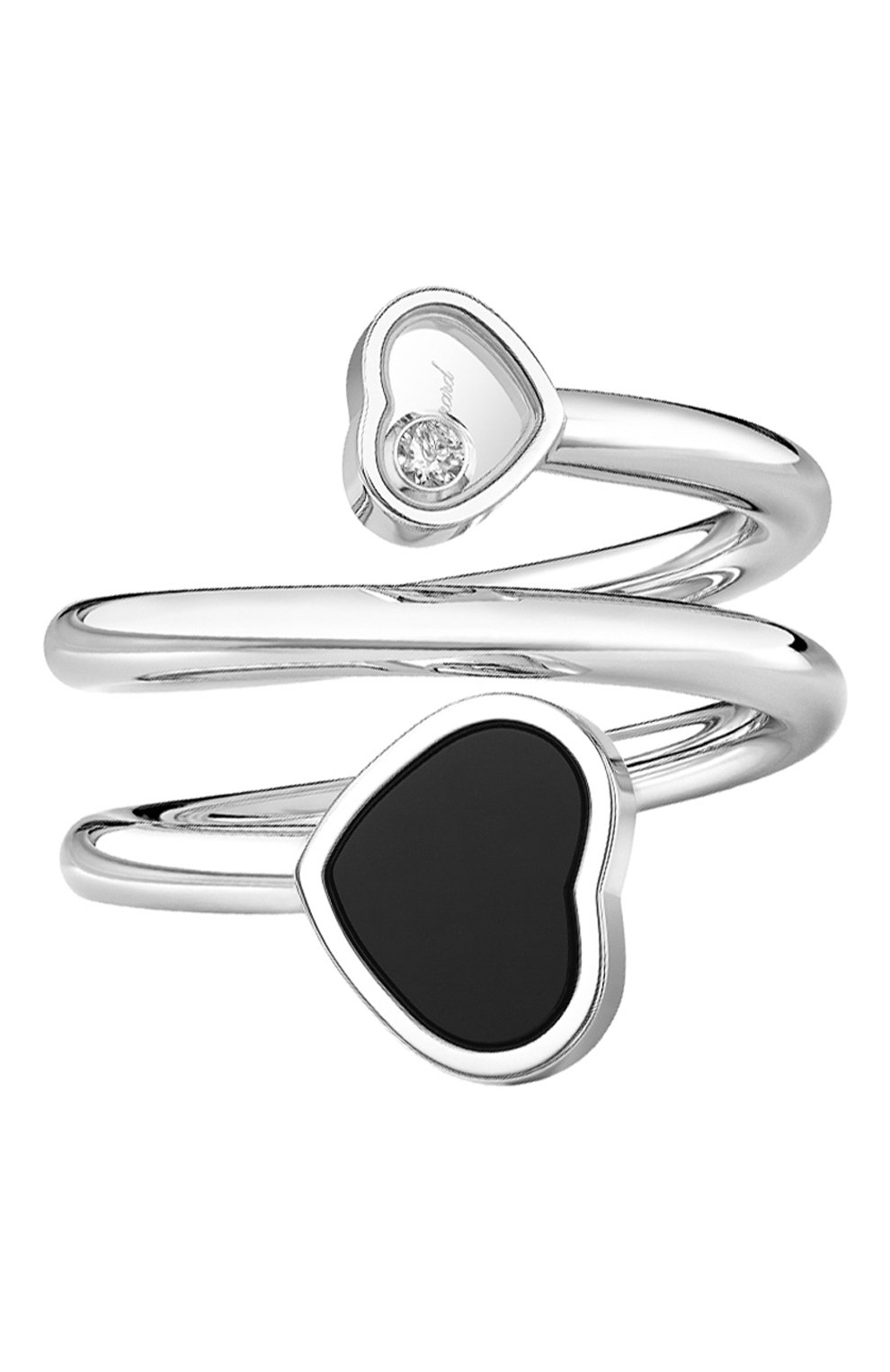 Женские кольцо CHOPARD белого золота цвета, арт. 82A082-1210 | Фото 1