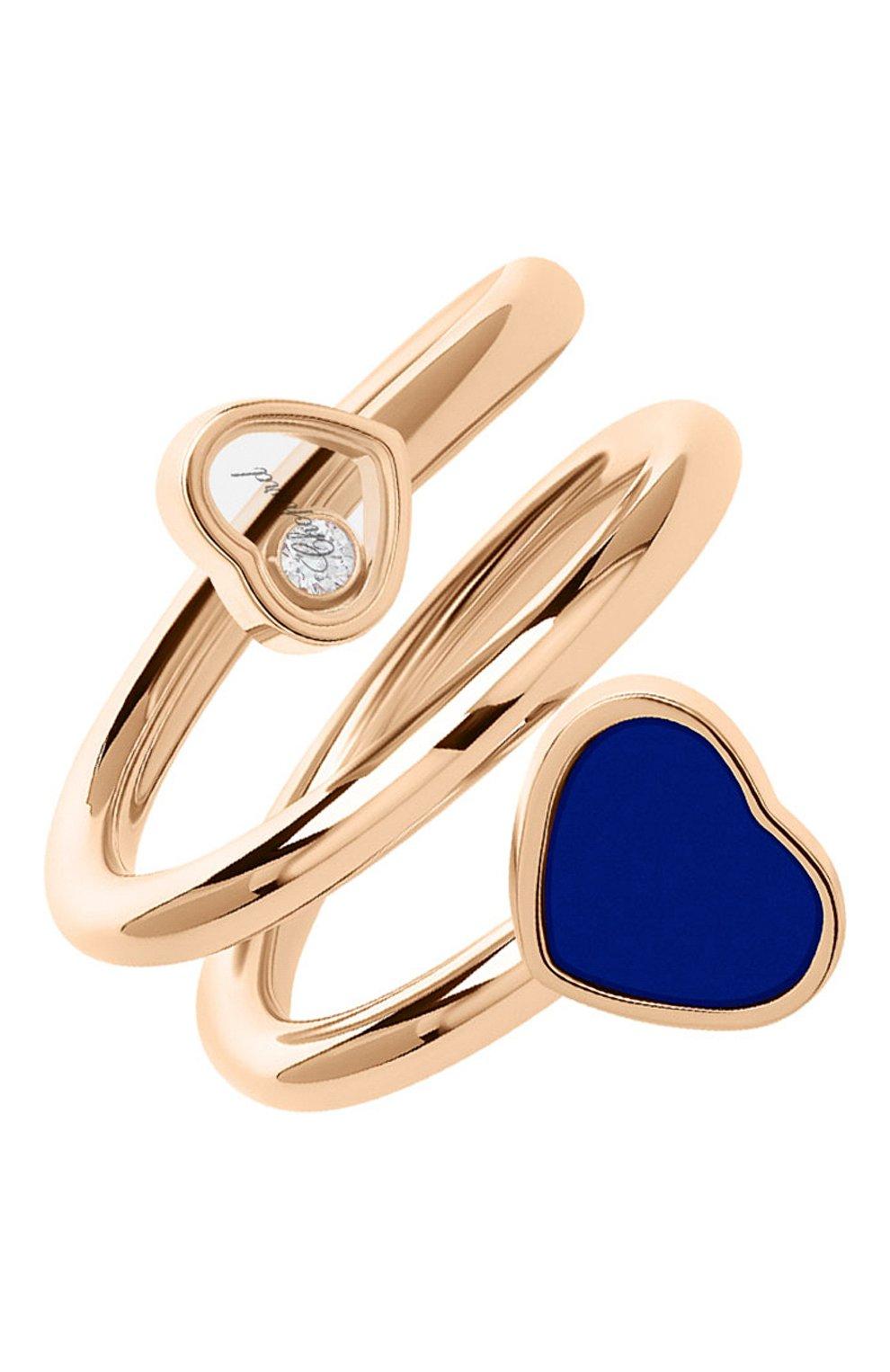 Женские кольцо CHOPARD розового золота цвета, арт. 82A082-5510   Фото 1