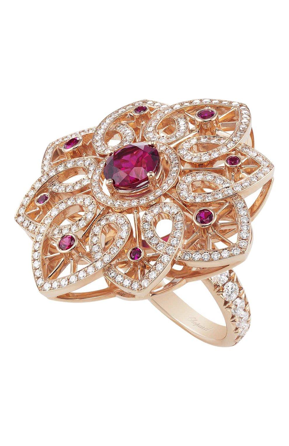 Женские кольцо CHOPARD бесцветного цвета, арт. 829340-5001 | Фото 1