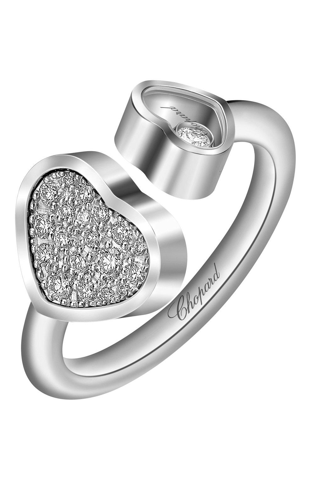 Женские кольцо CHOPARD белого золота цвета, арт. 829482-1910   Фото 1