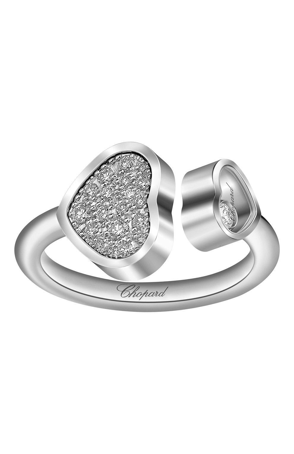 Женские кольцо CHOPARD белого золота цвета, арт. 829482-1910   Фото 2