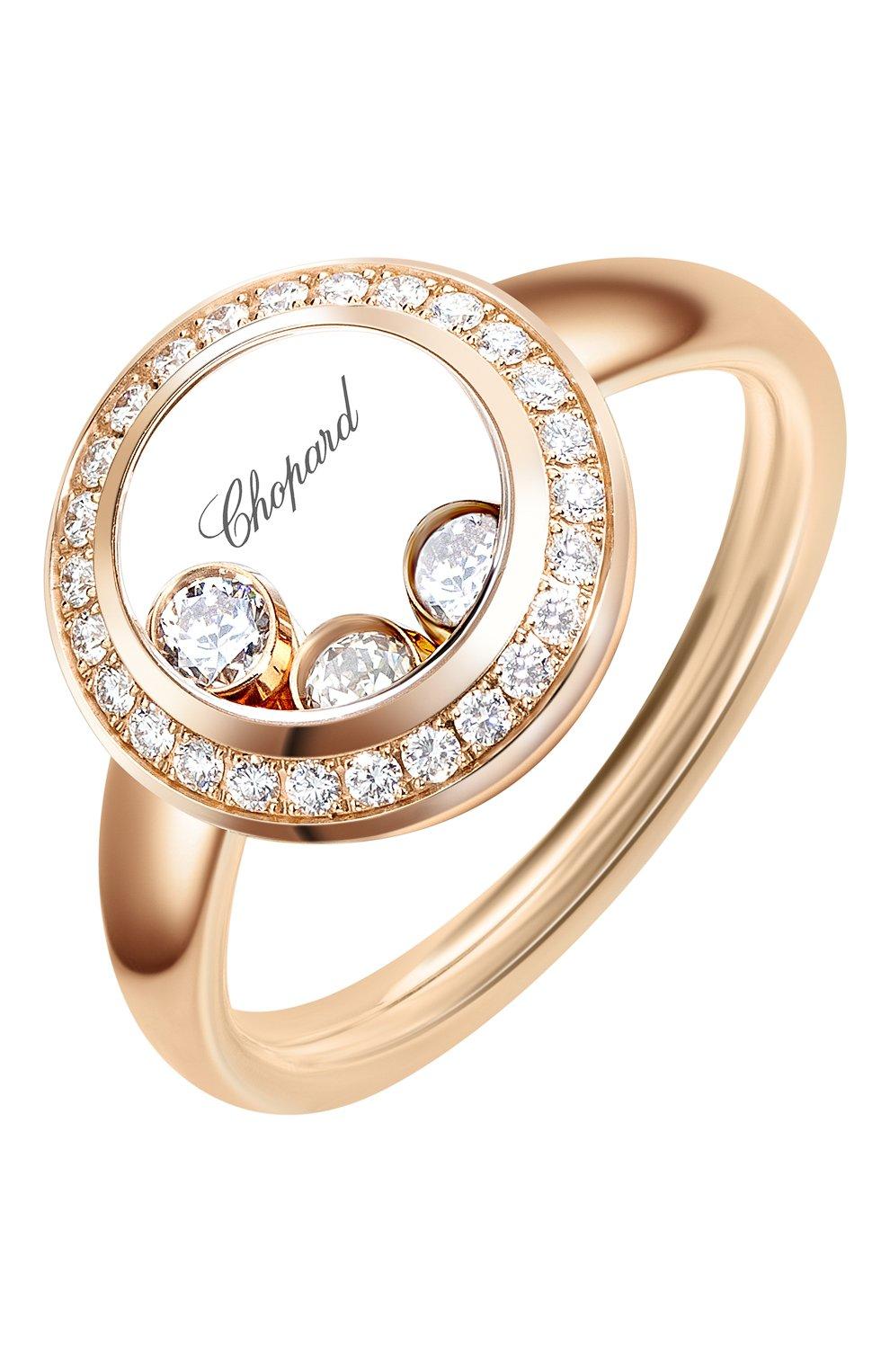 Женские кольцо CHOPARD розового золота цвета, арт. 829562-5039 | Фото 1