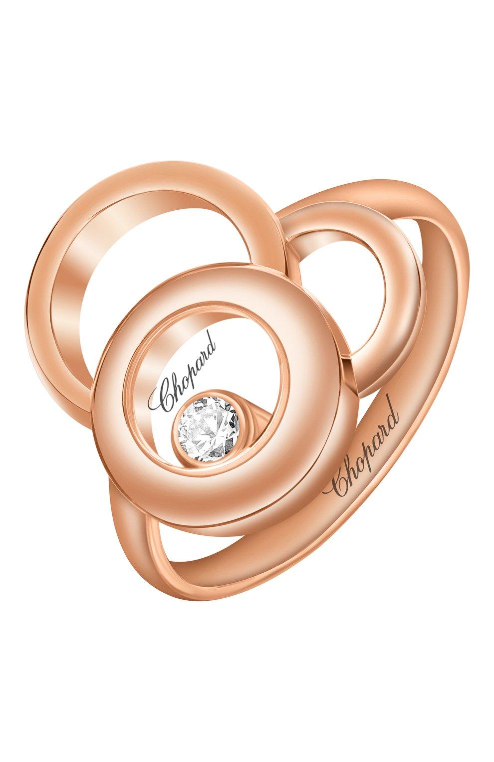 Женские кольцо CHOPARD розового золота цвета, арт. 829769-5010 | Фото 1