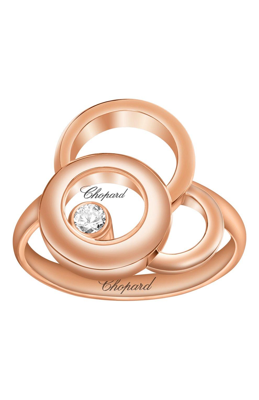 Женские кольцо CHOPARD розового золота цвета, арт. 829769-5010 | Фото 2