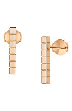 Женские серьги CHOPARD розового золота цвета, арт. 837702-5001 | Фото 2